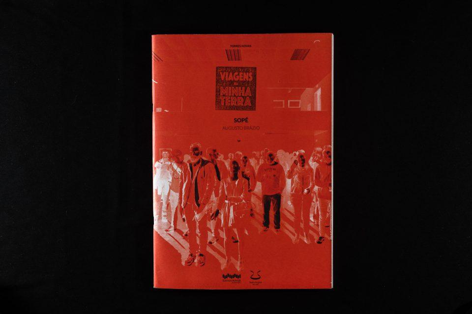 """Sopé"", capa de Augusto Brázio, Torres Novas, 2015."